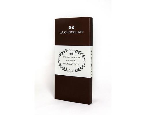 Tamna čokolada s aromom LAVANDE