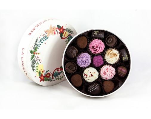 La Chocolate Božićna Bombonijera - 12 pralina