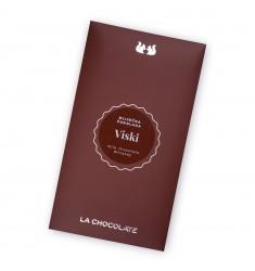 Mliječna čokolada s aromom Viskija - LaChocolate.hr